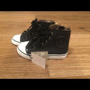 Burberry Shoes - Burberry kids high top sneakers
